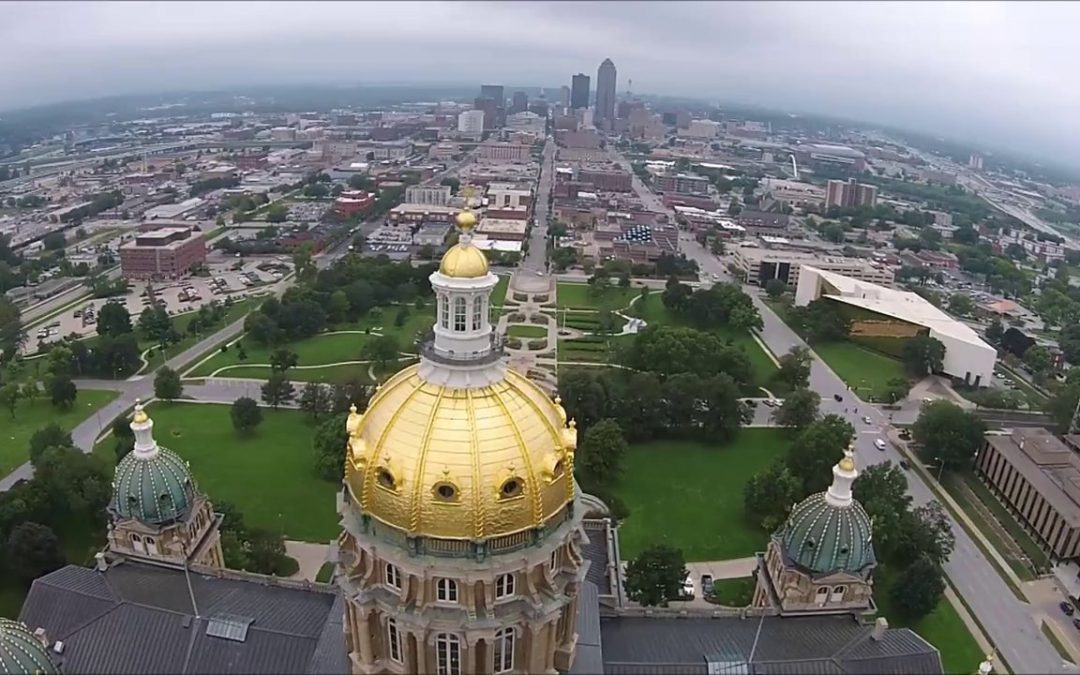 UAV Tour of Des Moines, Iowa [Video]